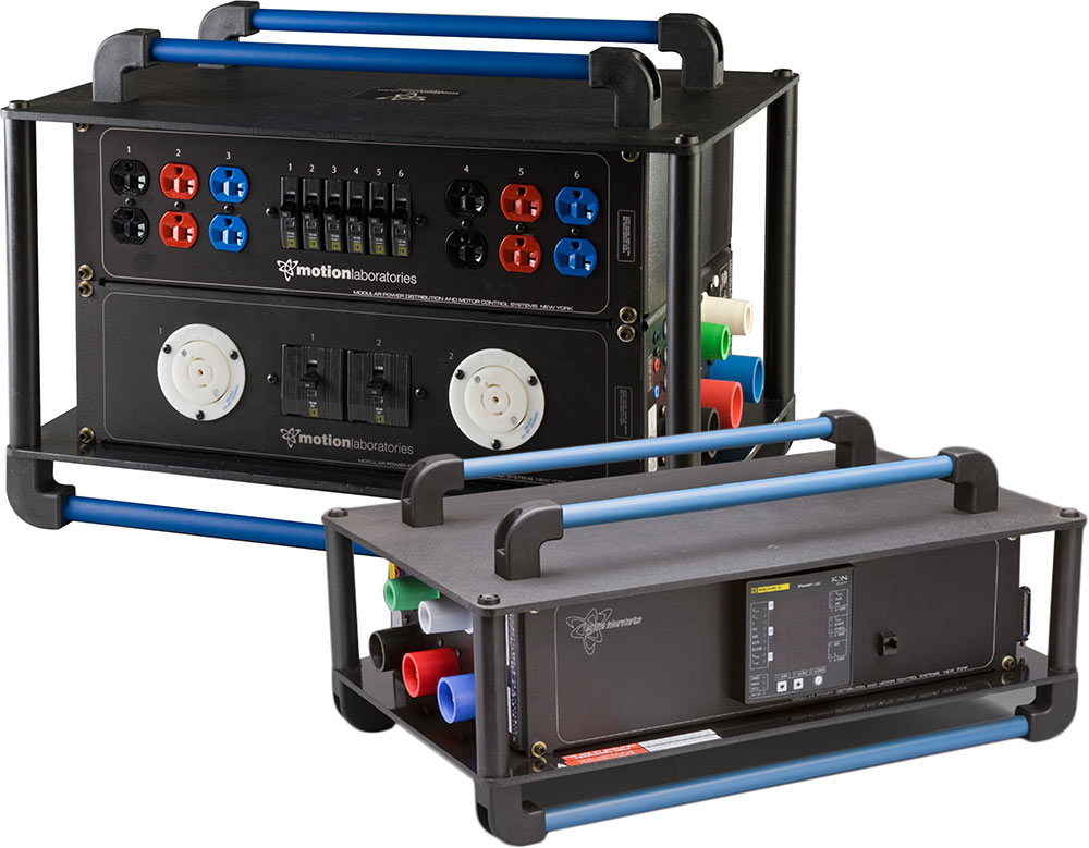 Stackable Power Distribution Units Trade Show Power