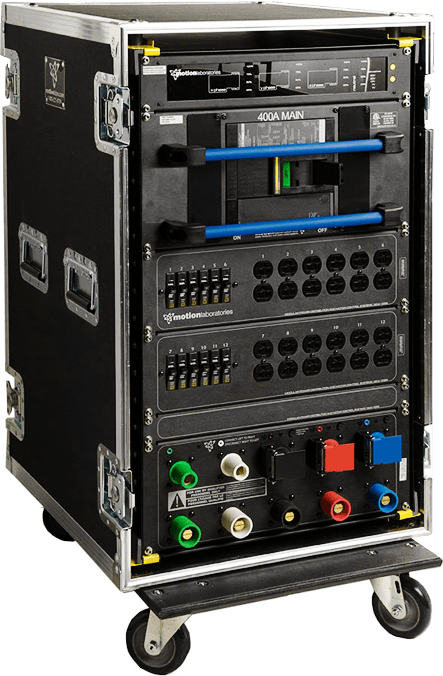 Portable Electrical Power Distribution